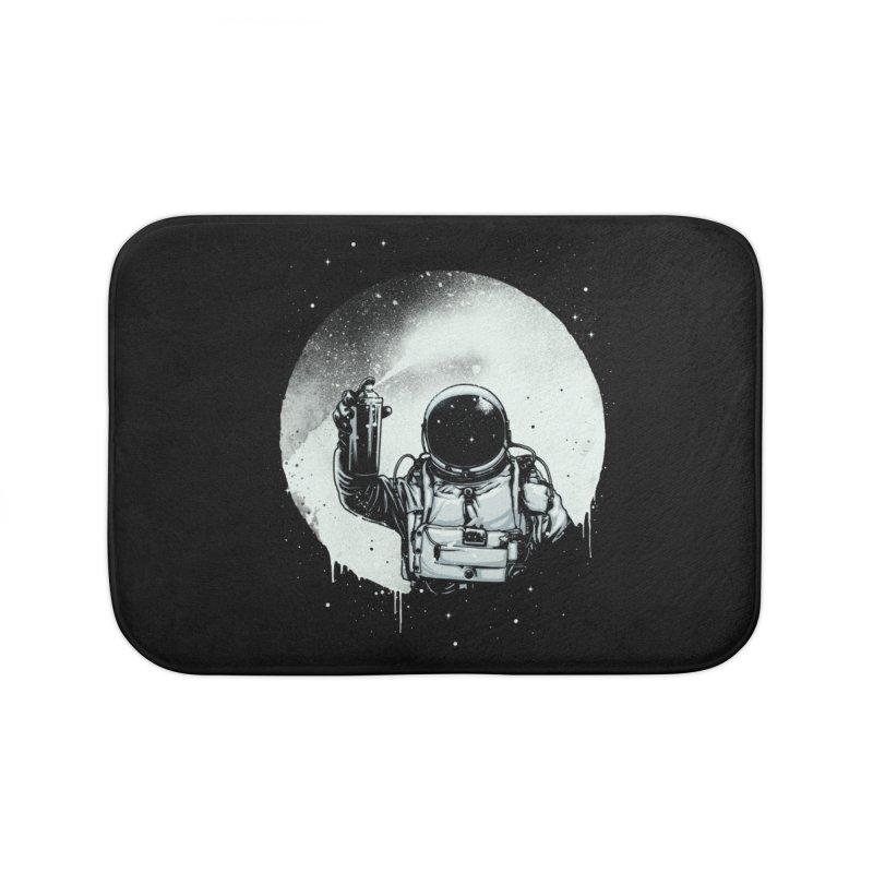 Paint the moon Home Bath Mat by ES427's Artist Shop