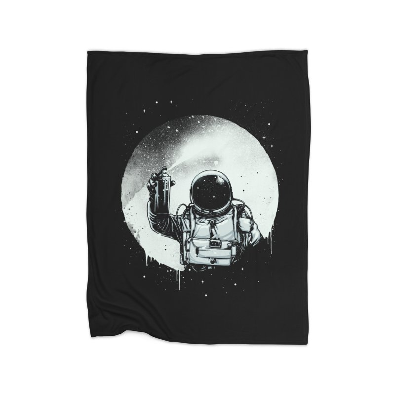 Paint the moon Home Blanket by ES427's Artist Shop