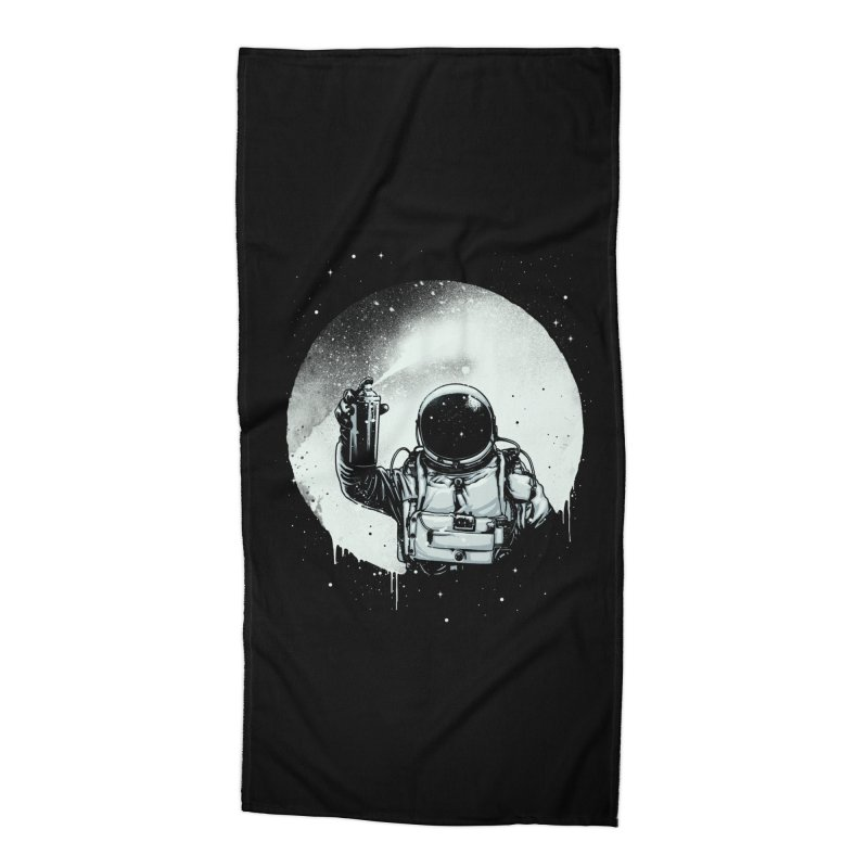 Paint the moon Accessories Beach Towel by ES427's Artist Shop