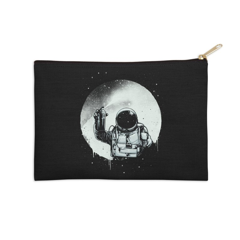Paint the moon Accessories Zip Pouch by ES427's Artist Shop