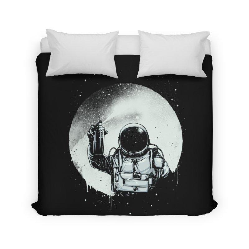 Paint the moon Home Duvet by ES427's Artist Shop