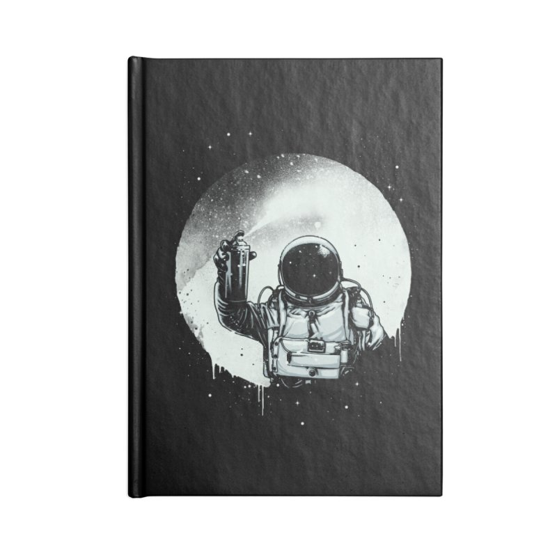 Paint the moon Accessories Notebook by ES427's Artist Shop