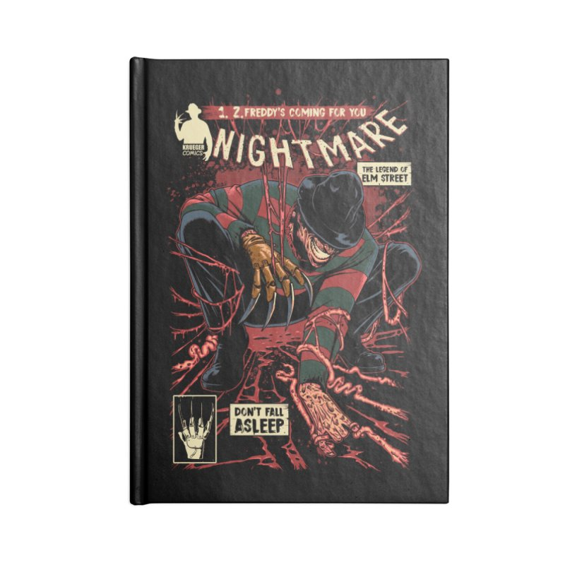 Nightmare Accessories Notebook by ES427's Artist Shop