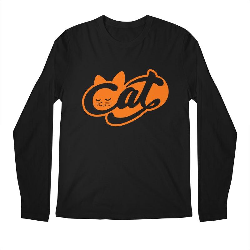 Sleeping Cat too Men's Longsleeve T-Shirt by ES427's Artist Shop
