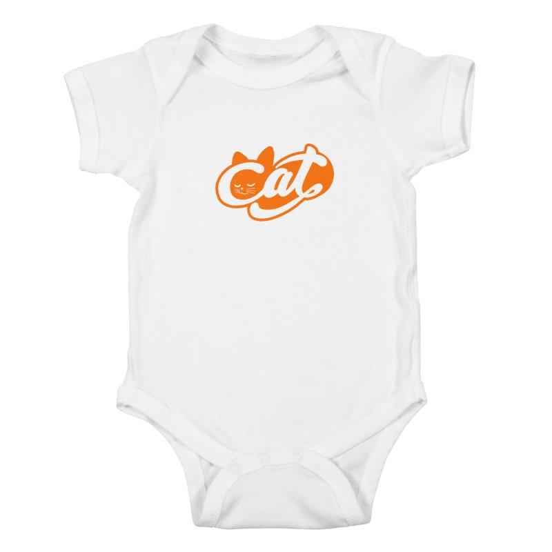 Sleeping Cat too Kids Baby Bodysuit by ES427's Artist Shop