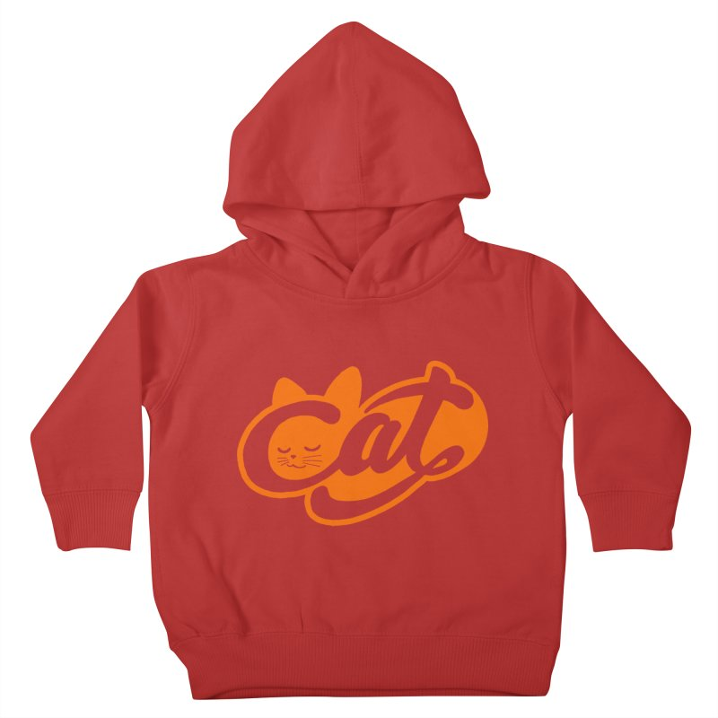 Sleeping Cat too Kids Toddler Pullover Hoody by ES427's Artist Shop