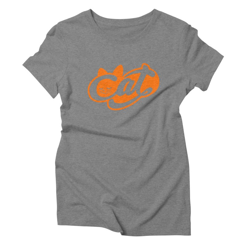 Sleeping Cat too Women's Triblend T-shirt by ES427's Artist Shop