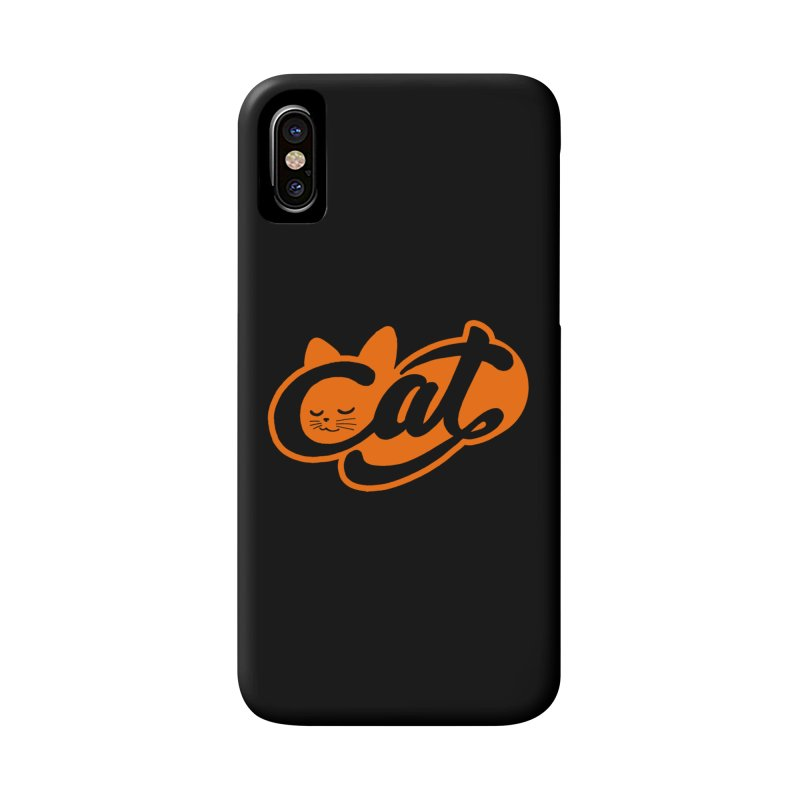 Sleeping Cat too Accessories Phone Case by ES427's Artist Shop