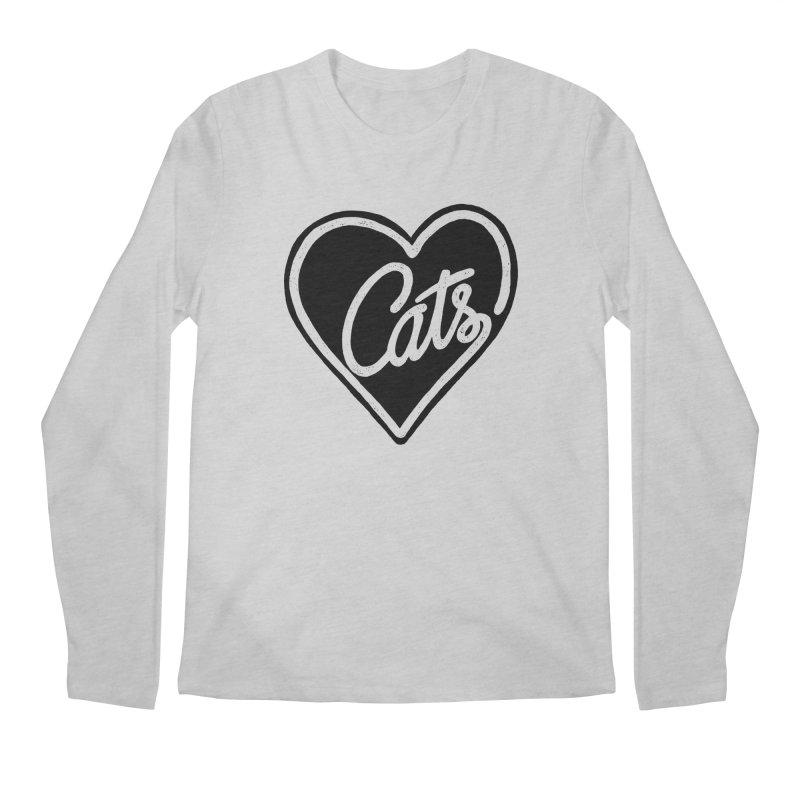 LOVECATS Men's Longsleeve T-Shirt by ES427's Artist Shop
