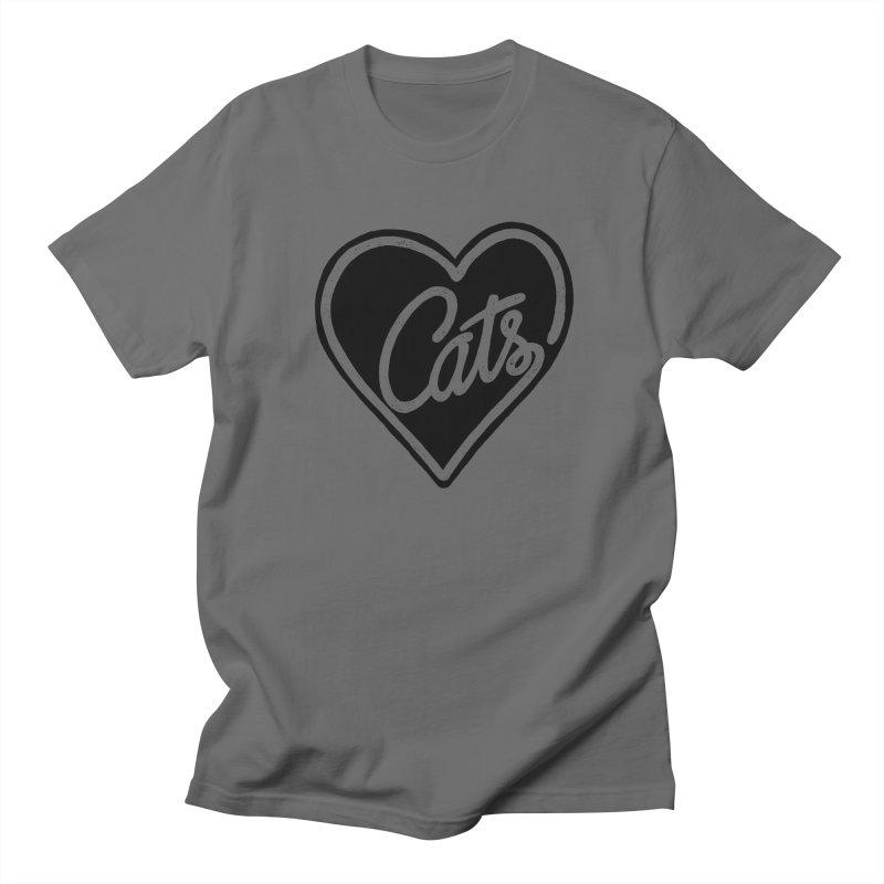 LOVECATS Men's T-shirt by ES427's Artist Shop