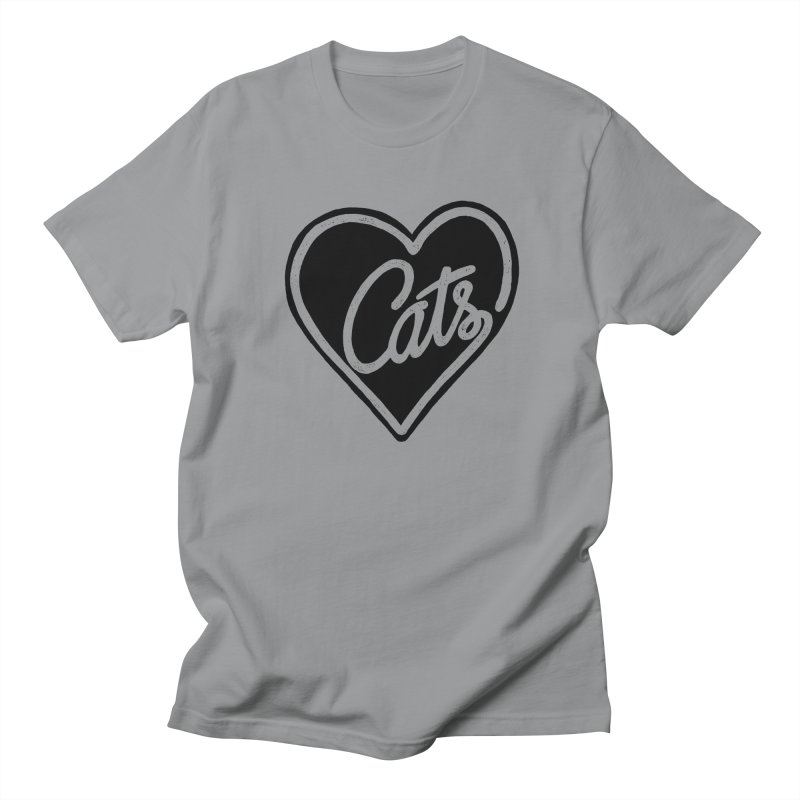 LOVECATS Women's Unisex T-Shirt by ES427's Artist Shop