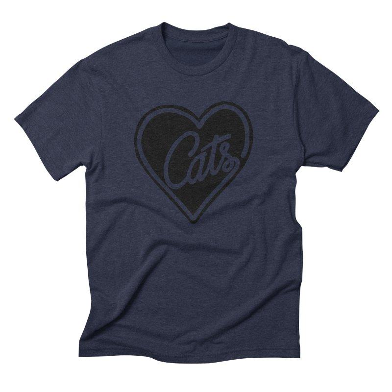 LOVECATS Men's Triblend T-shirt by ES427's Artist Shop