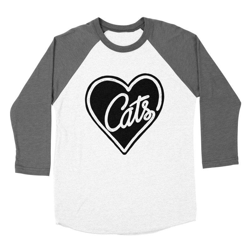 LOVECATS Women's Baseball Triblend T-Shirt by ES427's Artist Shop