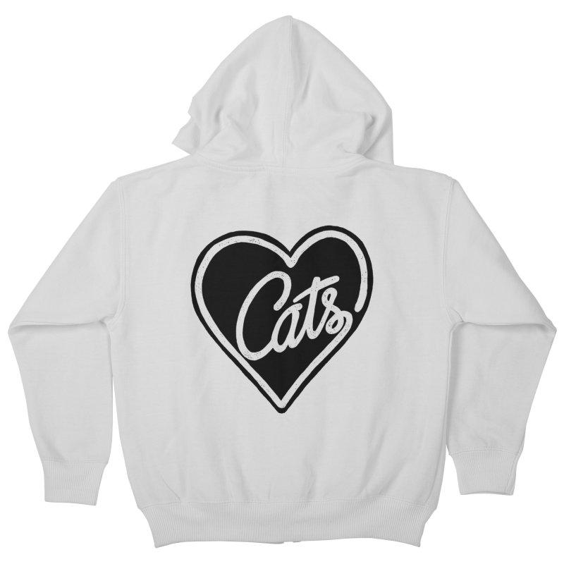 LOVECATS Kids Zip-Up Hoody by ES427's Artist Shop