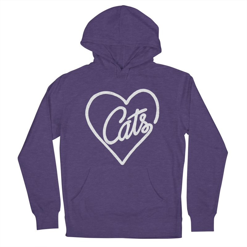 Lovecats(white) Women's Pullover Hoody by ES427's Artist Shop