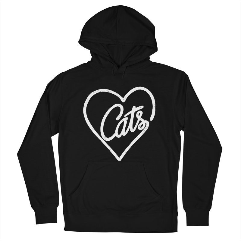 Lovecats(white) Men's Pullover Hoody by ES427's Artist Shop