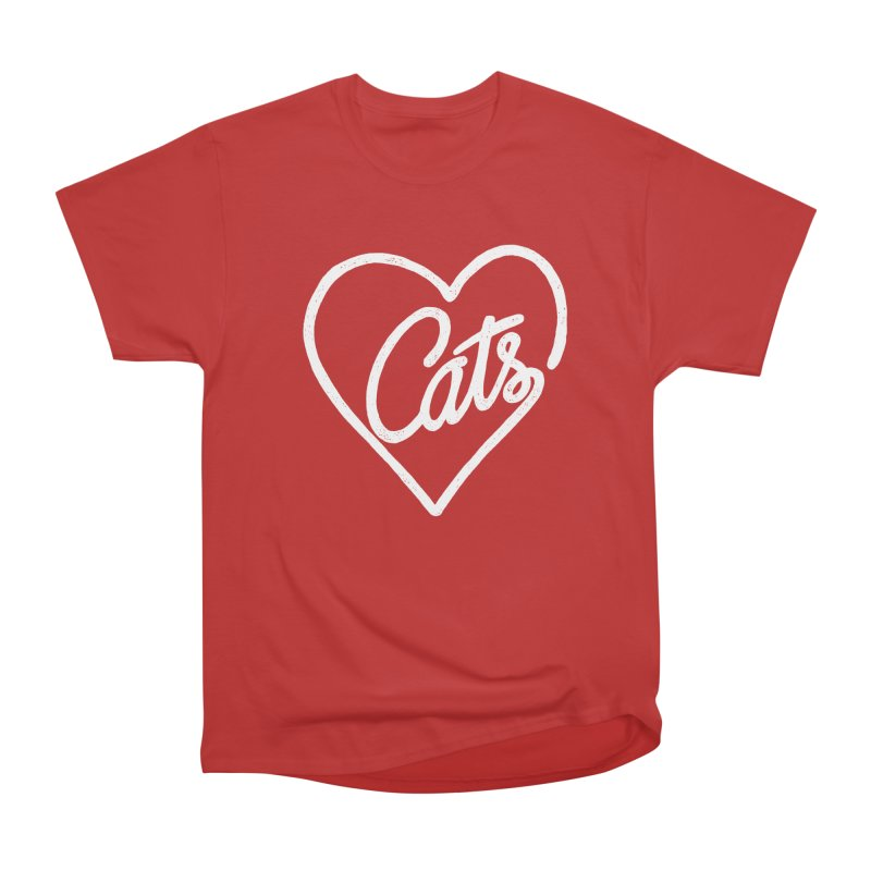 Lovecats(white) Men's Classic T-Shirt by ES427's Artist Shop