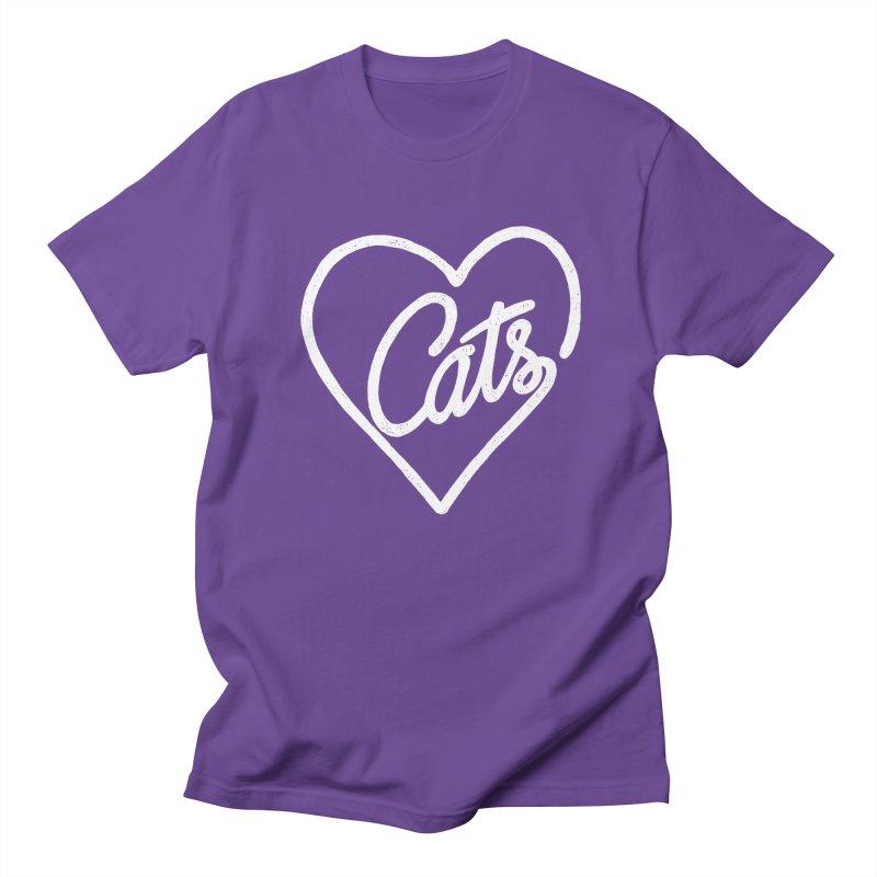 Lovecats(white) Men's T-shirt by ES427's Artist Shop