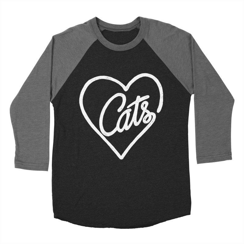 Lovecats(white) Women's Baseball Triblend T-Shirt by ES427's Artist Shop