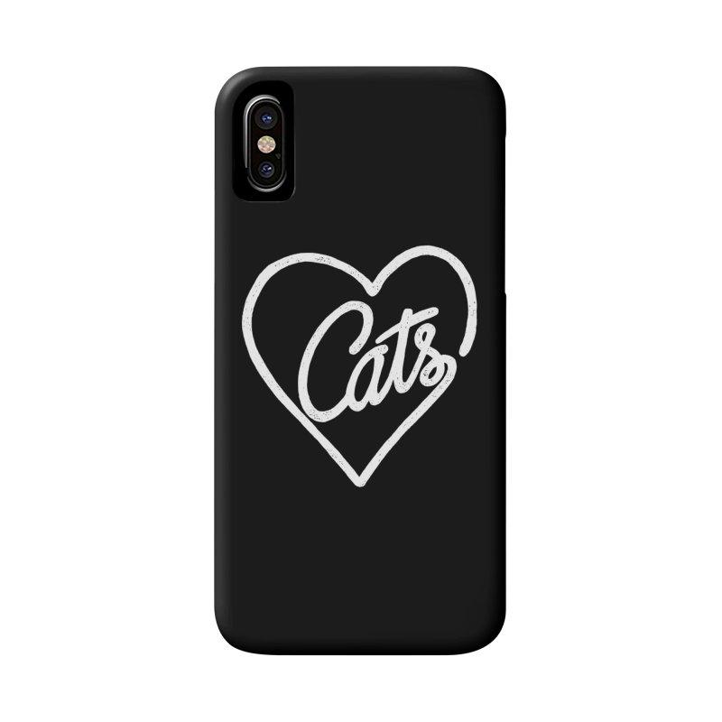Lovecats(white) Accessories Phone Case by ES427's Artist Shop