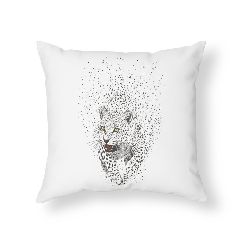 Spots Home Throw Pillow by ES427's Artist Shop