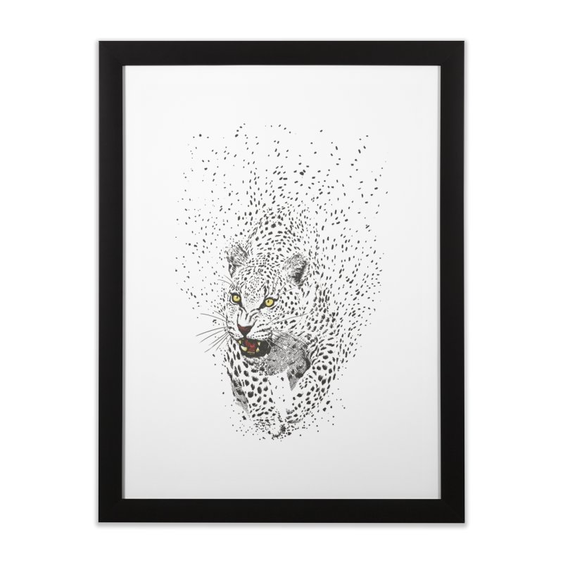 Spots Home Framed Fine Art Print by ES427's Artist Shop