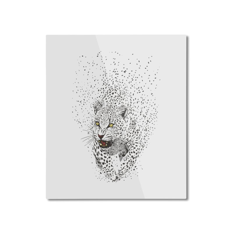 Spots Home Mounted Aluminum Print by ES427's Artist Shop