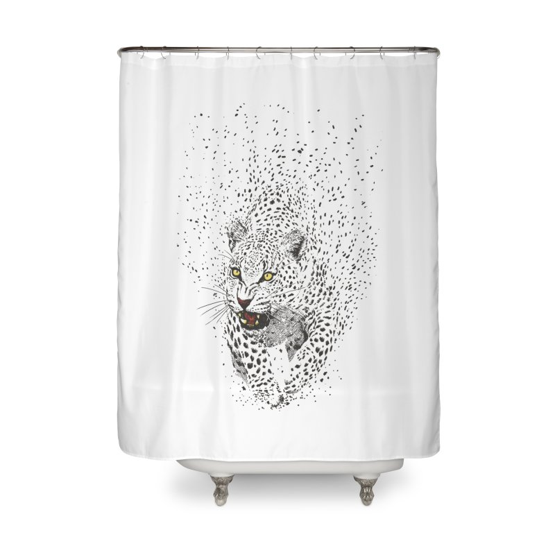 Spots Home Shower Curtain by ES427's Artist Shop