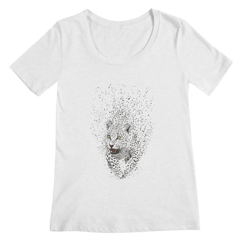 Spots Women's Scoopneck by ES427's Artist Shop