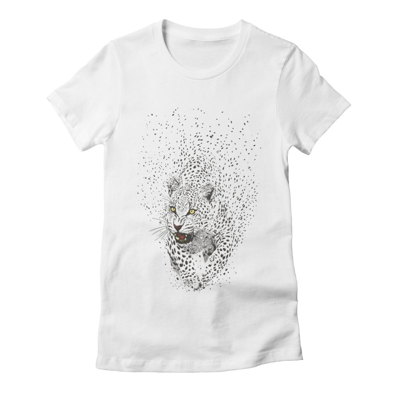 Spots Women's Fitted T-Shirt by ES427's Artist Shop