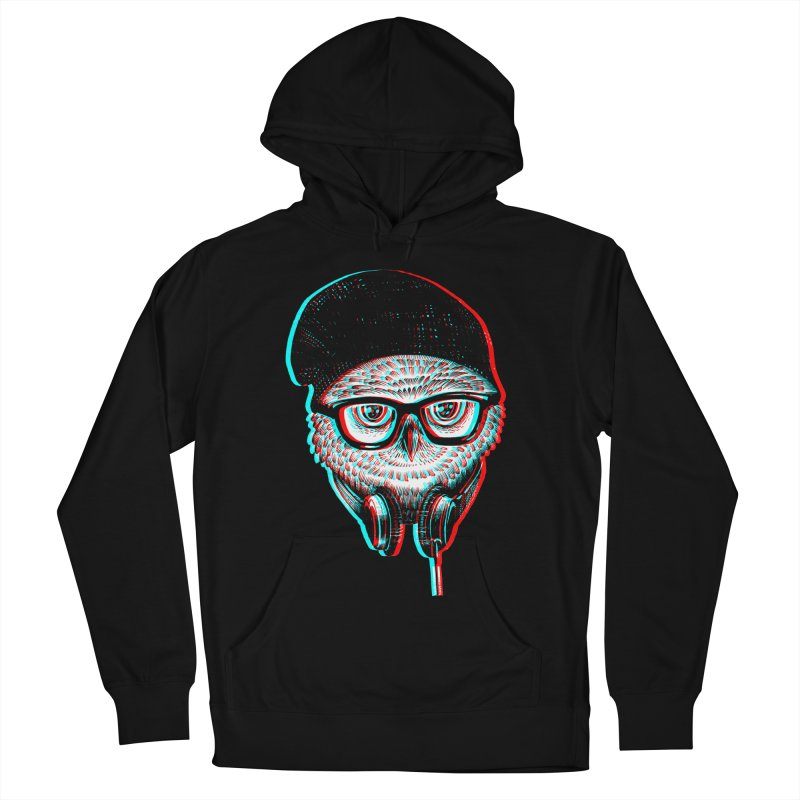 Hipster Owl Men's Pullover Hoody by ES427's Artist Shop