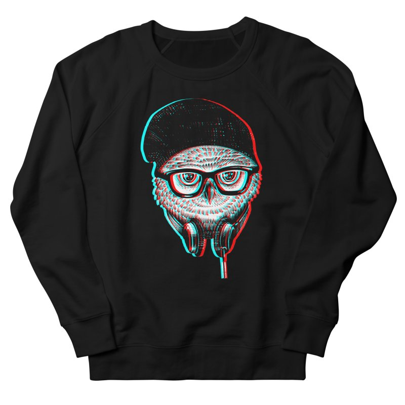 Hipster Owl Men's Sweatshirt by ES427's Artist Shop