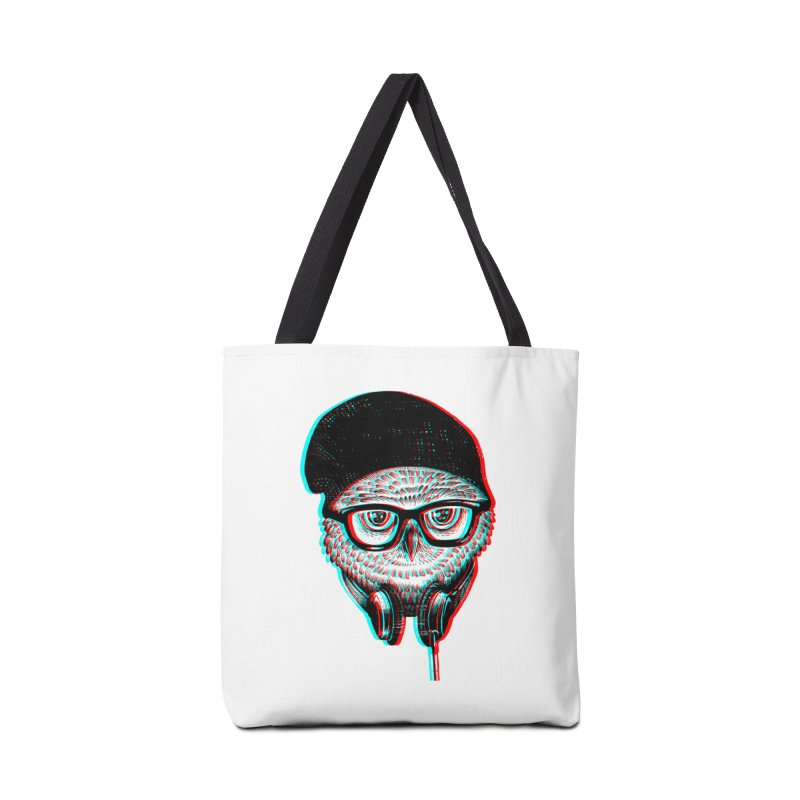 Hipster Owl Accessories Bag by ES427's Artist Shop