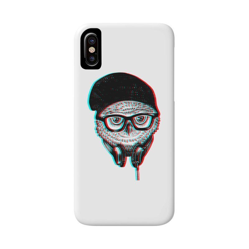 Hipster Owl Accessories Phone Case by ES427's Artist Shop