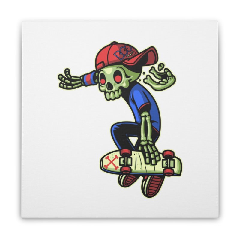 Boo! Home Stretched Canvas by ES427's Artist Shop