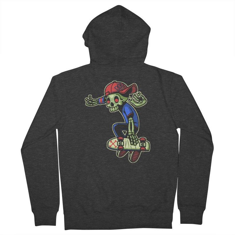 Boo! Men's Zip-Up Hoody by ES427's Artist Shop
