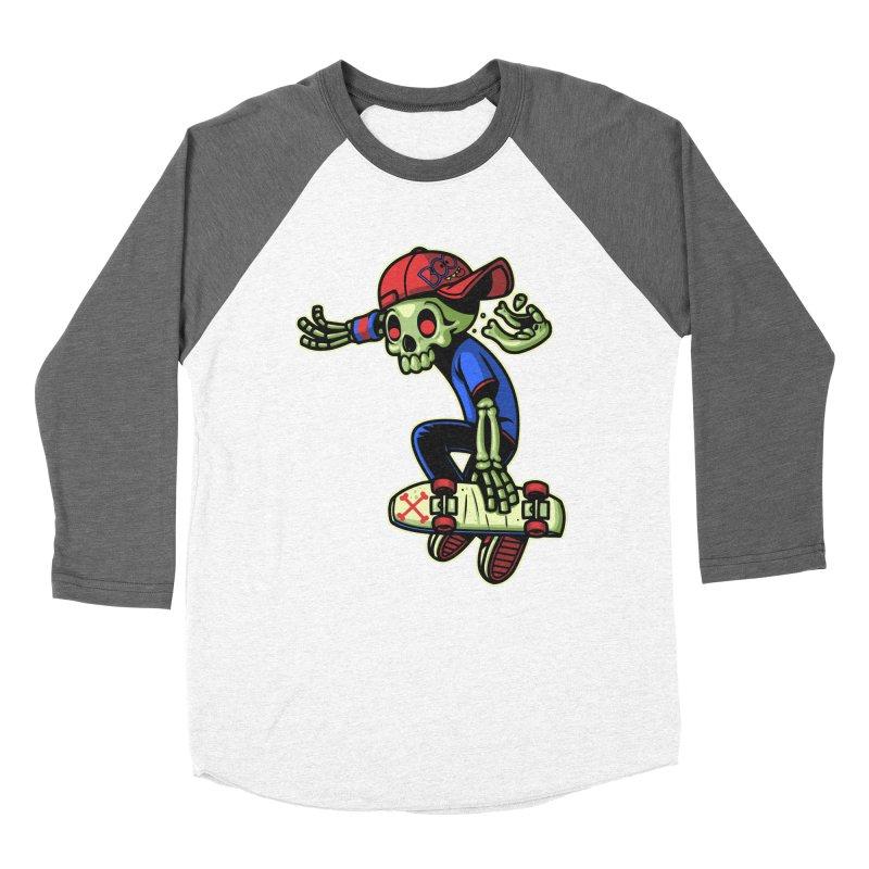 Boo! Women's Baseball Triblend T-Shirt by ES427's Artist Shop