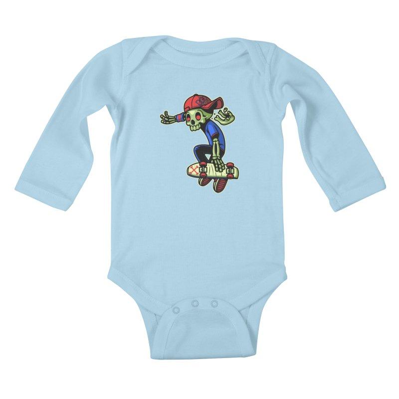 Boo! Kids Baby Longsleeve Bodysuit by ES427's Artist Shop