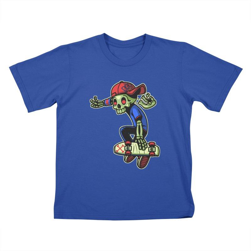 Boo! Kids T-Shirt by ES427's Artist Shop