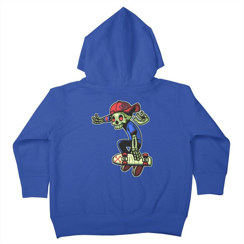 Boo! Kids Toddler Zip-Up Hoody by ES427's Artist Shop