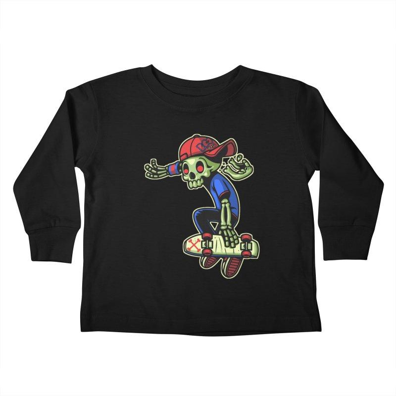 Boo! Kids Toddler Longsleeve T-Shirt by ES427's Artist Shop
