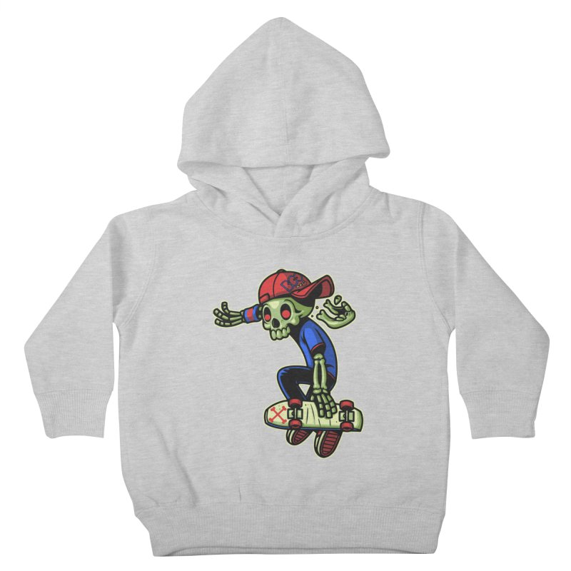 Boo! Kids Toddler Pullover Hoody by ES427's Artist Shop
