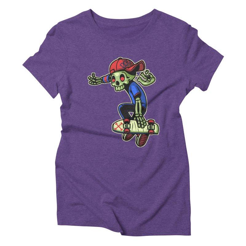 Boo! Women's Triblend T-Shirt by ES427's Artist Shop