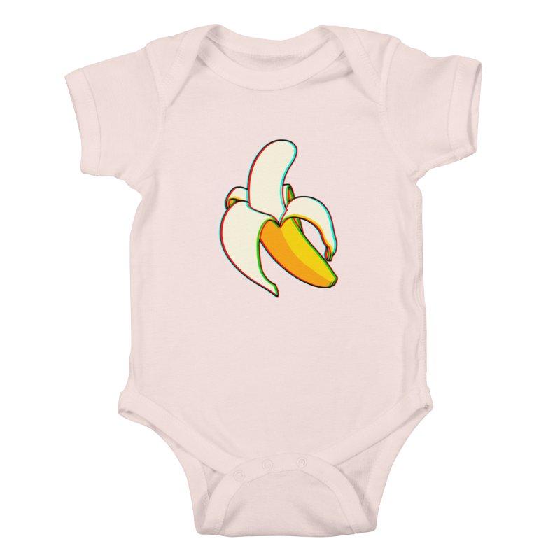 Banana Focus Kids Baby Bodysuit by ES427's Artist Shop