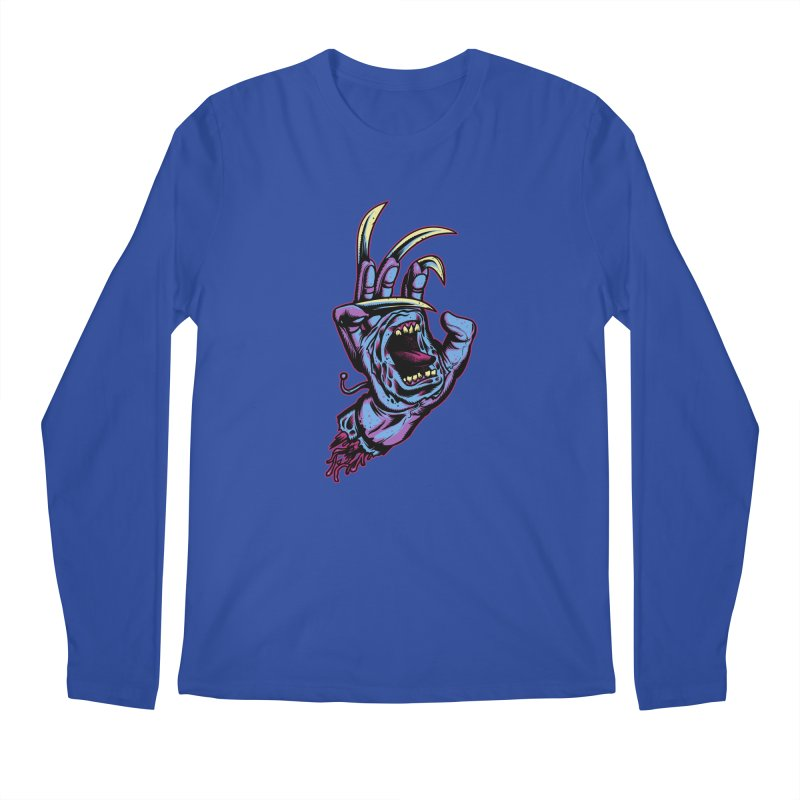 Slasher Hand Men's Longsleeve T-Shirt by ES427's Artist Shop