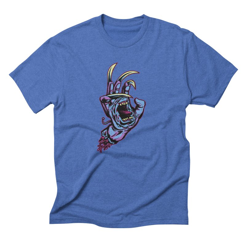 Slasher Hand Men's Triblend T-Shirt by ES427's Artist Shop