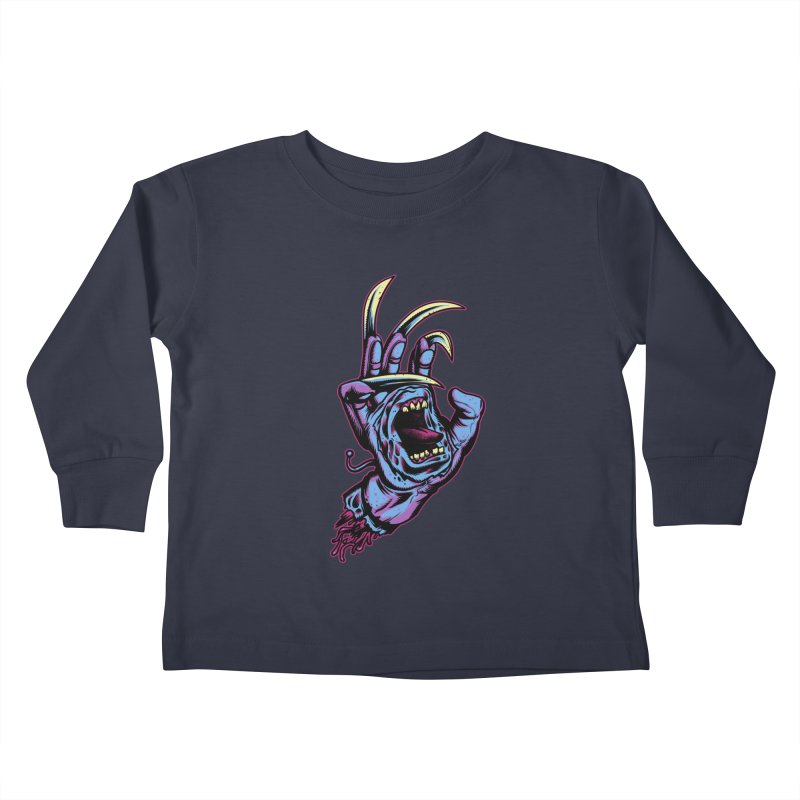 Slasher Hand Kids Toddler Longsleeve T-Shirt by ES427's Artist Shop
