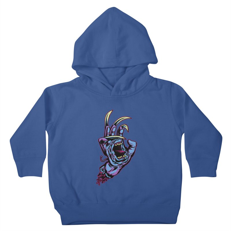 Slasher Hand Kids Toddler Pullover Hoody by ES427's Artist Shop