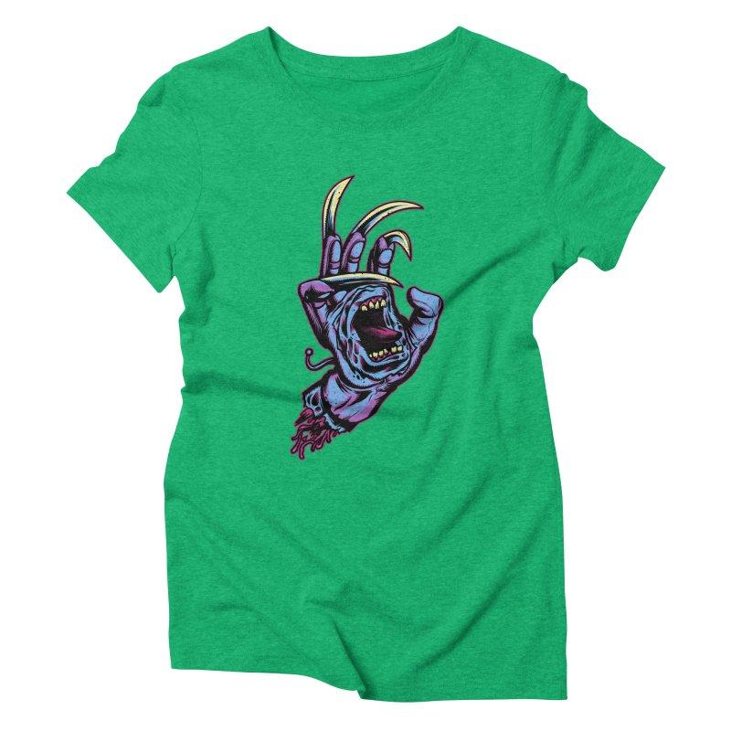 Slasher Hand Women's Triblend T-Shirt by ES427's Artist Shop