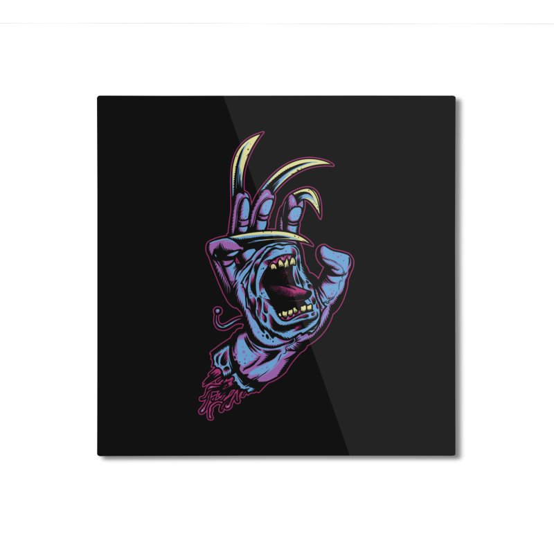Slasher Hand Home Mounted Aluminum Print by ES427's Artist Shop